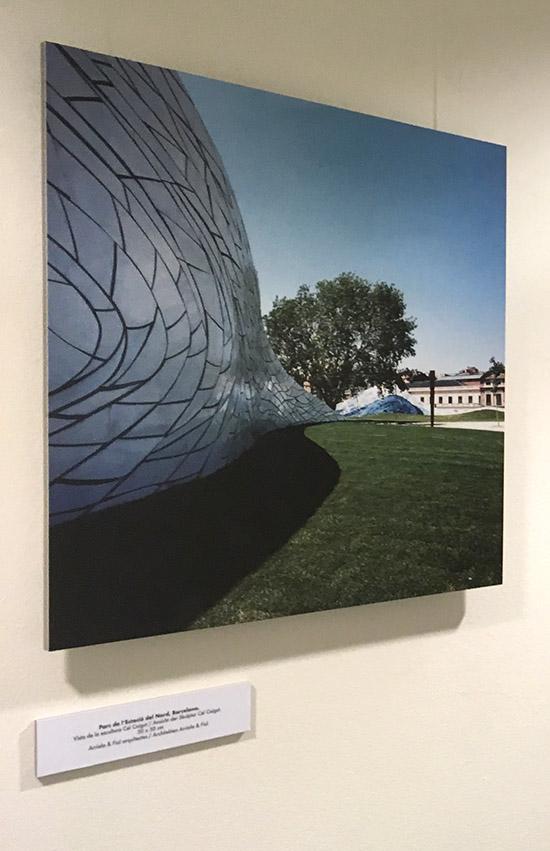 Kapafix, Kapakaschierung, Ausstellung, Leichtschaumplatte